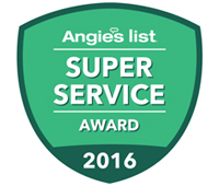 Angies List SUper Sercive Award
